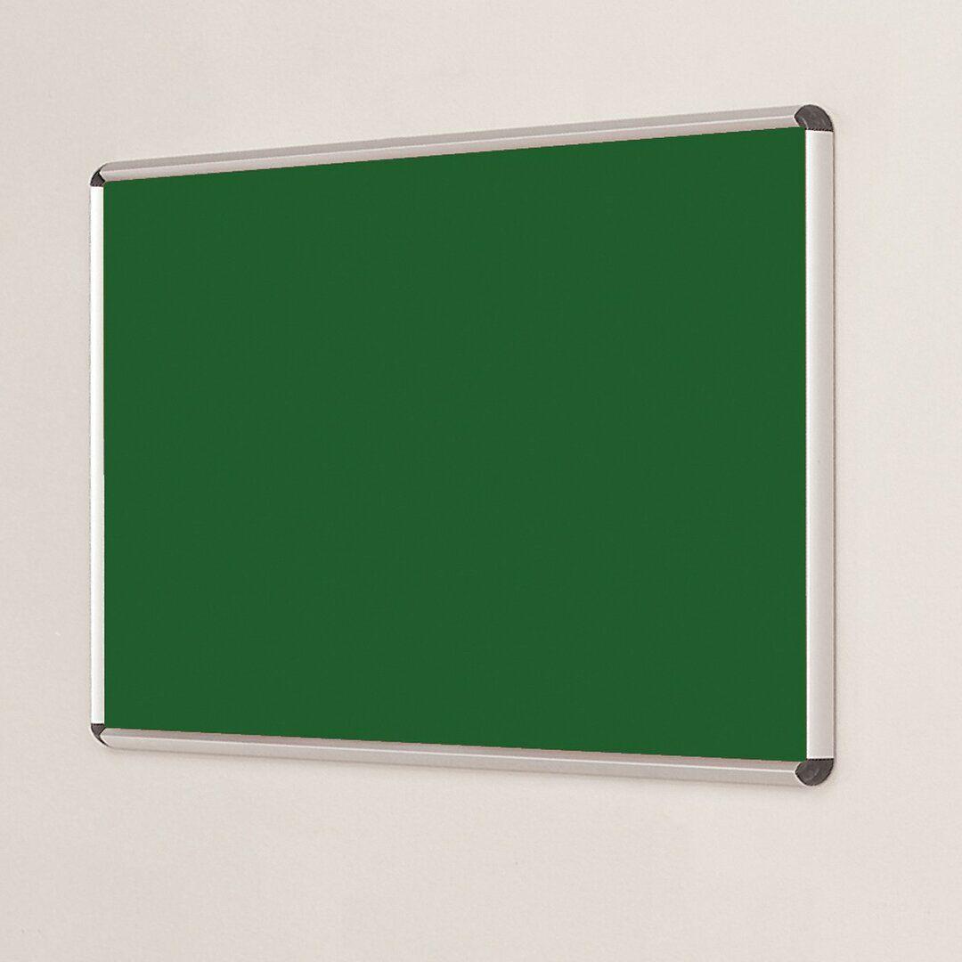 Symple Stuff Wall Mounted Bulletin Board  - Size: 130.0 H x 180.0 W cm