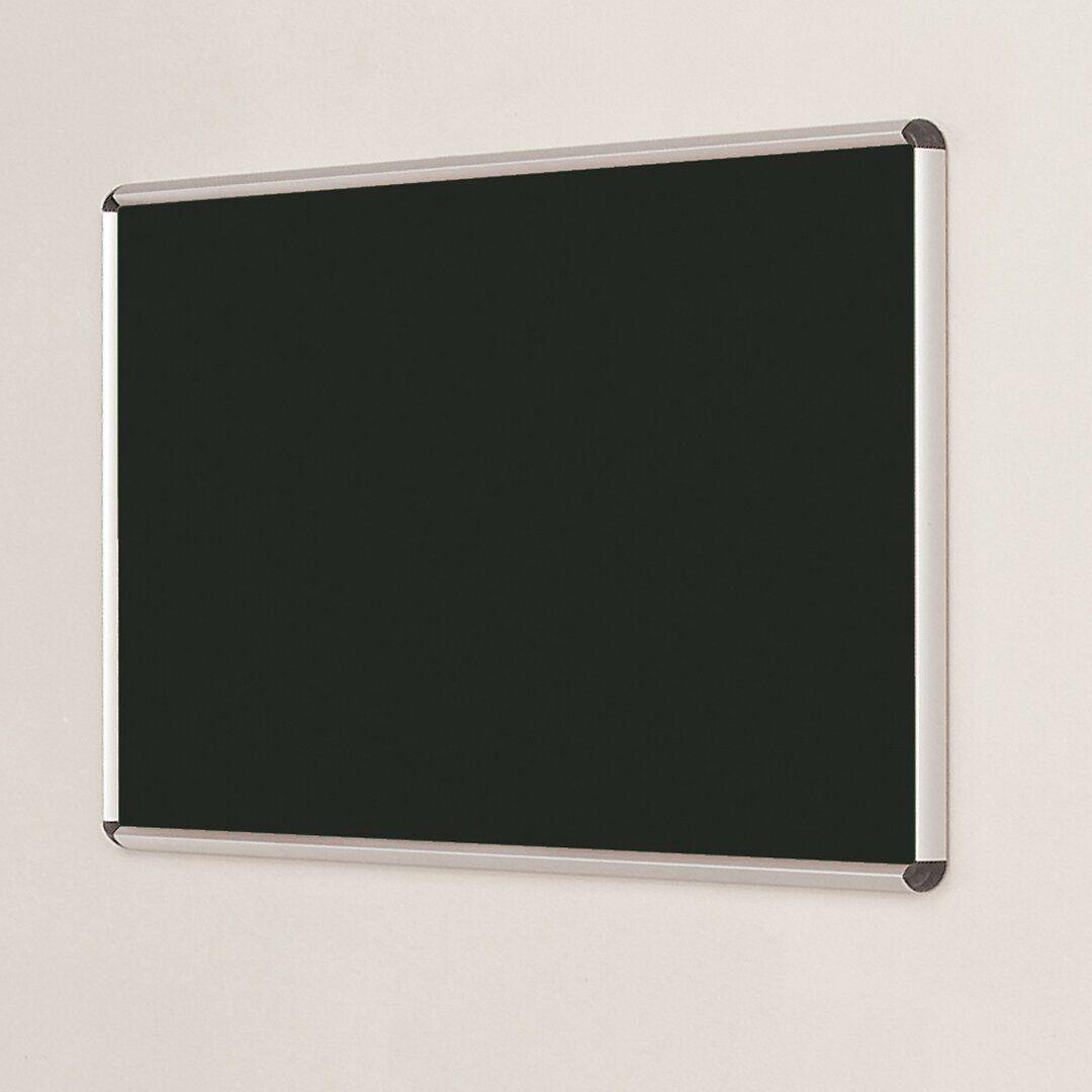 Symple Stuff Wall Mounted Bulletin Board  - Size: 60.0 H x 90.0 W cm