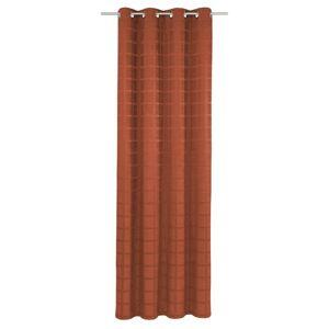 Ophelia & Co. Shire Eyelet Blackout Thermal Single Curtain Ophelia & Co. Colour: Terra, Panel Size: Width 270cm x Drop 245cm  - Terra - Size: Width 270cm x Drop 245cm