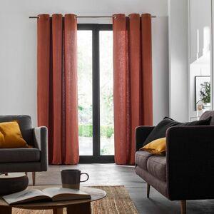 Marlow Home Co. Eaddy Eyelet Room Darkening Single Curtain  - Size: 116.0 H x 100.0 W x 202.0 D cm