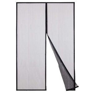 Symple Stuff Newman Semi-Sheer Door Curtain Symple Stuff Panel Size: 140 W x 230 D cm  - Size: 140 W x 230 D cm