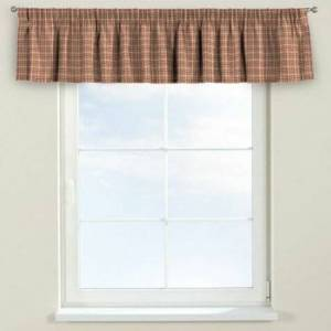 Dekoria Bristol Curtain Pelmet Dekoria Size: 130cm W x 40cm L, Colour: Pink/Green  - Pink/Green - Size: Large