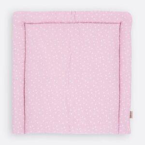 KraftKids Cotton Marquisette Changing Mat KraftKids Size: 85 x 75cm, Colour: Pink  - Pink - Size: 85 x 75cm