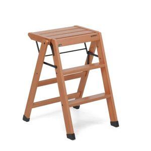Foppapedretti Losgabello 3 Steps Wood Step Stool with 276 lb. Load Capacity Foppapedretti Finish/Colour: Walnut  - Walnut