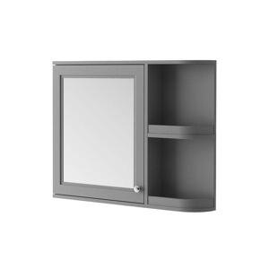 Three Posts Bataan 88cm x 70cm Surface Mount Mirror Cabinet  - Size: 28.0 H x 20.0 W x 20.0 D cm