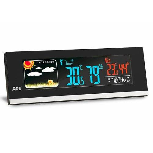 ADE Wireless Weather Station ADE  - Size: 2cm H X 7cm W X 21cm D