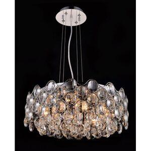 Mercer41 8-Light Crystal Chandelier Mercer41  - Size: Small