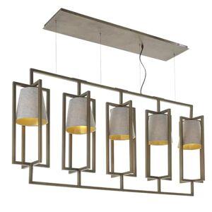 Ebern Designs Gault 5-Light Kitchen Island Pendant Ebern Designs  - Size: 65cm H X 30cm W X 30cm D