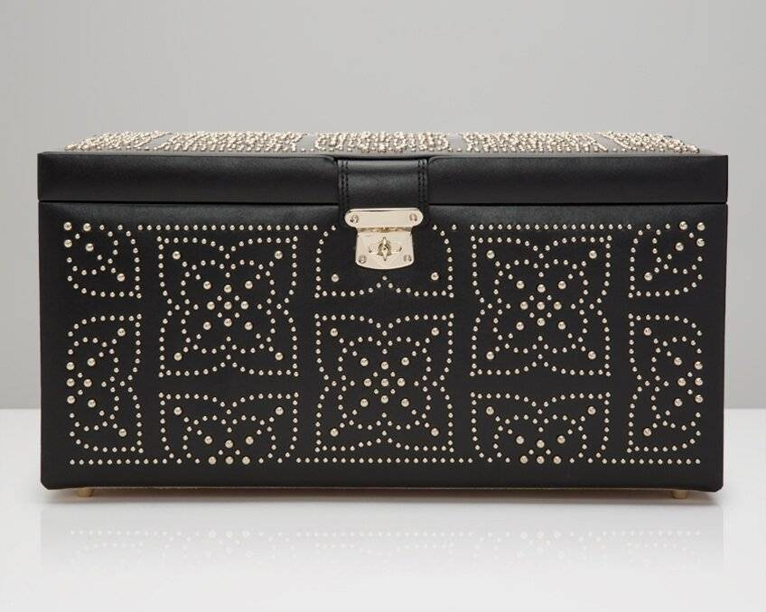 WOLF Large Marrakesh Jewellery Box  - Size: 1.0 H x 20.0 D cm