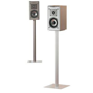 Symple Stuff Maxi 2x Speaker Stand Symple Stuff Colour: Clear  - Clear - Size: 76cm H X 26cm W X 26cm D