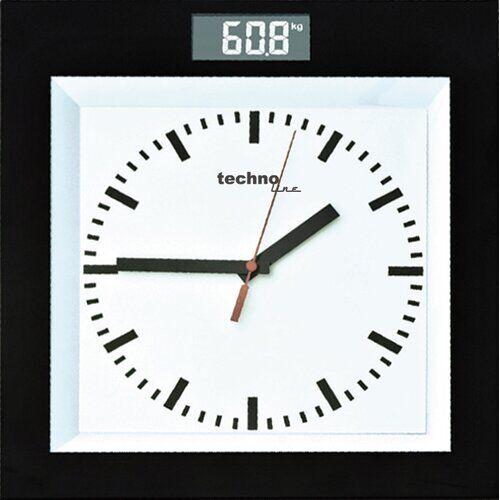Technoline Bathroom Scale Technoline  - Size: 4cm H X 32cm W X 30cm D