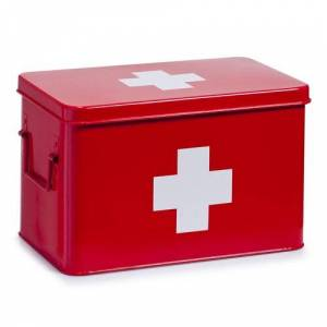 Zeller Metal Box Zeller Size: Large  - Size: Large