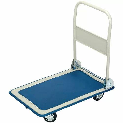 Draper 63cm H x 48cm W x 85cm D 150kg Hand Truck Trolley Draper  - Size: