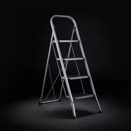 Symple Stuff Alby 4 ft Steel Step Ladder with 330 lb. Load Capacity Symple Stuff  - Size: 73cm H X 57cm W X 101cm D