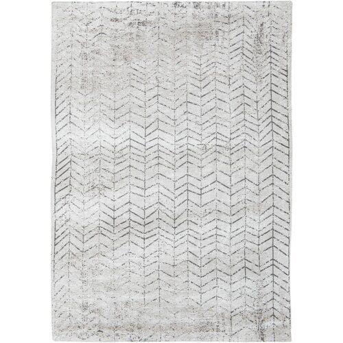Louis de Poortere Mad Men Black/White Rug Louis de Poortere Rug Size: Rectangle 230 x 330cm  - Size: Rectangle 230 x 330cm