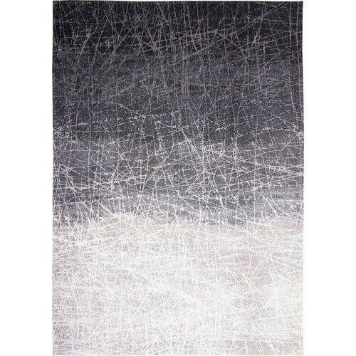 Louis de Poortere Mad Men Fahrenheit Flatweave Grey Rug Louis de Poortere Rug Size: Rectangle  80 x 150cm  - Size: Rectangle 230 x 330cm