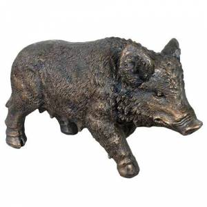 Brambly Cottage Baby Wild Boar Garden Ornament Brambly Cottage  - Size: Double (4'6)