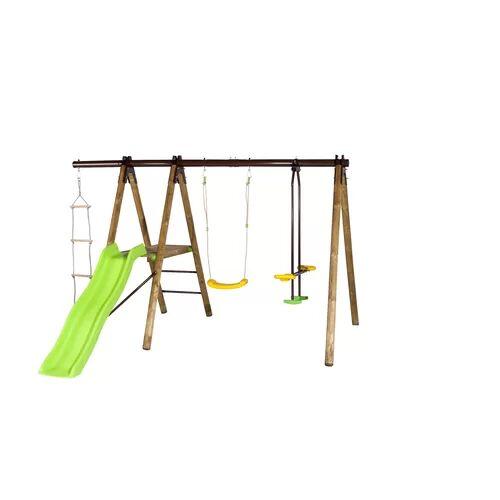 Trigano Oreka Swing Set Trigano  - Size: 190cm H X 326cm W X 290cm D