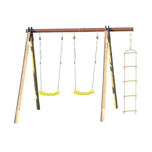 Trigano Piki Swing Set Trigano  - Size: 190cm H X 239cm W X 183cm D