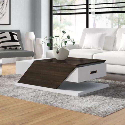 Ebern Designs Encore Coffee Table with Storage Ebern Designs