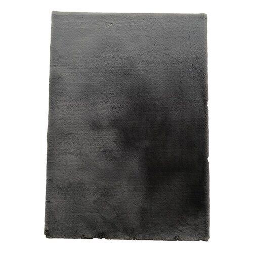 Canora Grey Encore Tufted Dark Grey Rug Canora Grey Rug Size: Rectangle 80 x 150cm  - Size: Rectangle 80 x 150cm