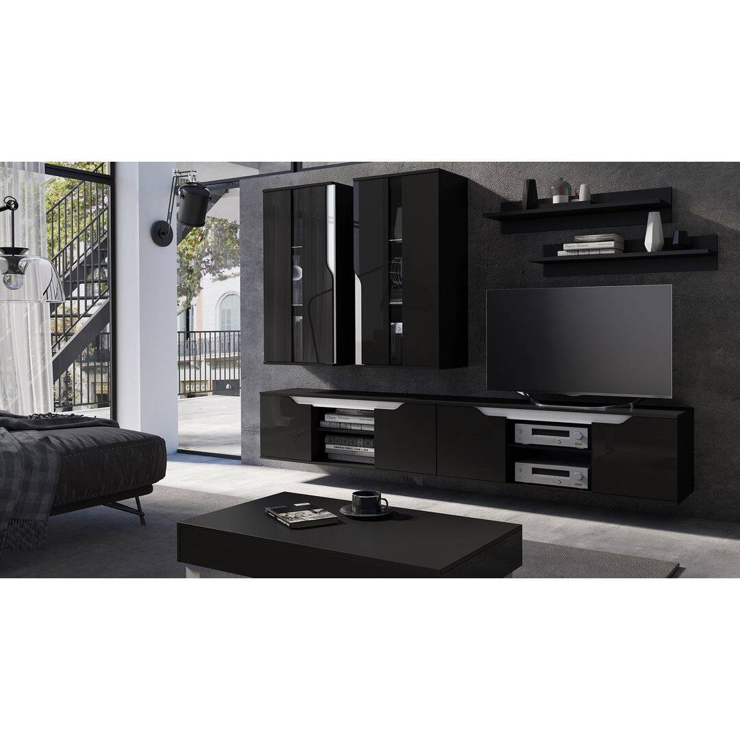 """Brayden Studio Marble Hill Entertainment Unit for TVs up to 50"""" 198.12 W x 220.98 D cm"""