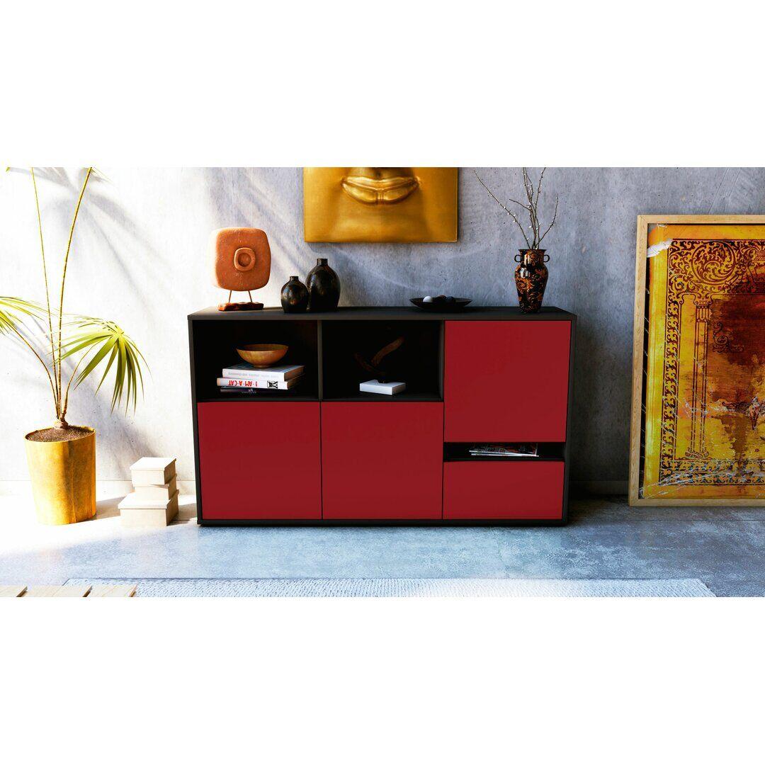 Brayden Studio Guiterrez Sideboard  - Size: 56.0 H x 198.0 W x 50.0 D cm