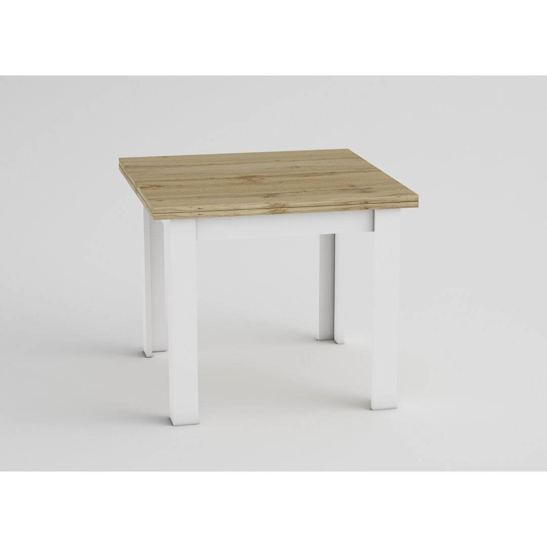 Brayden Studio Bayer Extendable Dining Table  - Size: 198.1 H x 68.6 W cm