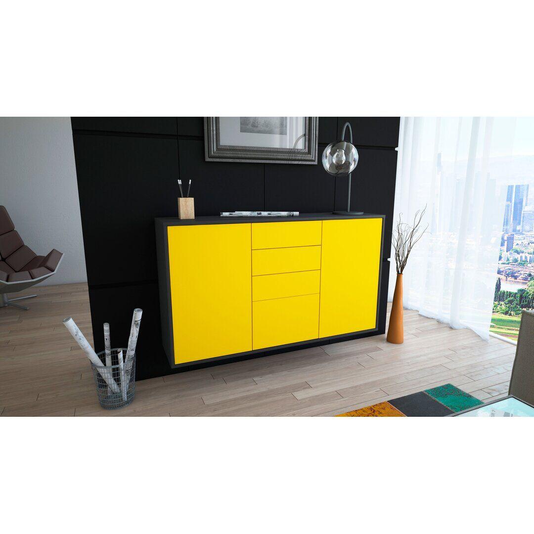 Brayden Studio Jayce Sideboard  - Size: 198.1 H x 116.8 W cm