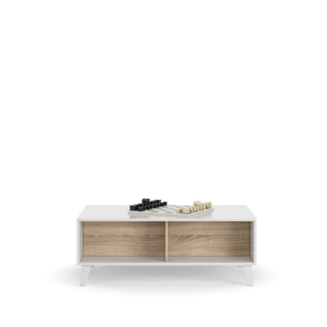 Brayden Studio Betancourt Lift Top Coffee Table  - Size: 198.0 W x 198.0 D cm