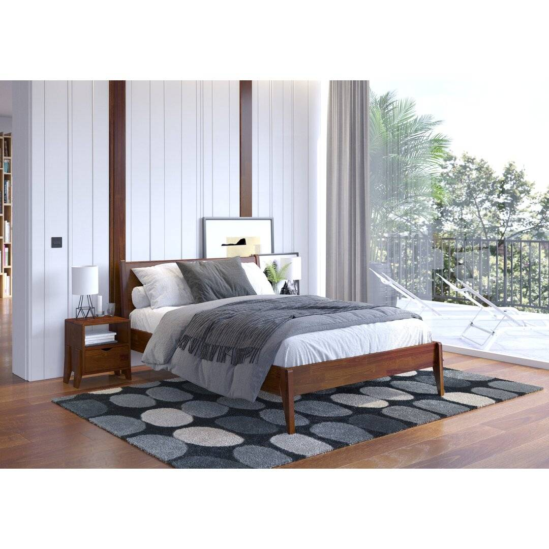 Corrigan Studio Eng Bed Frame  - Size: 198.1 H x 83.8 W x 4.4 D cm