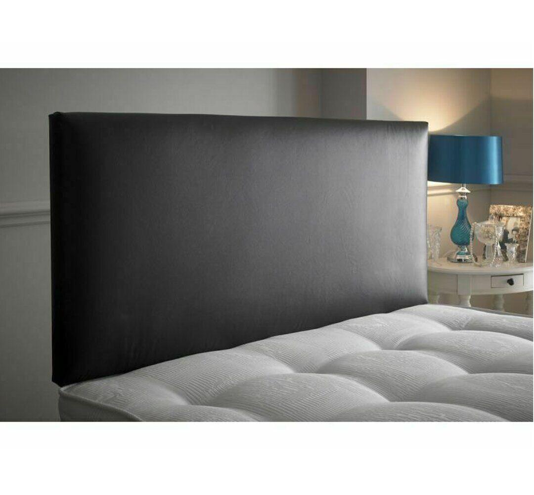 17 Stories Ordonez Upholstered Headboard  - Size: 70.0 H x 93.0 W x 1.0 D cm