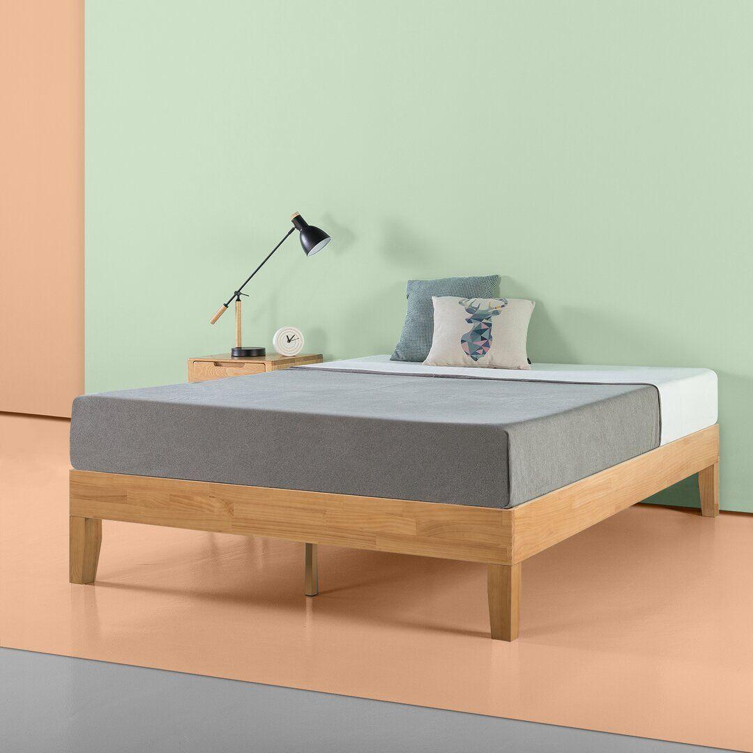 Brayden Studio Maxen Bed Frame  - Size: 198.1 H x 68.6 W cm
