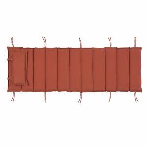 17 Stories Arbaaz Garden Seat/Back Cushion 17 Stories Colour: Red  - Red - Size: 5cm H X 56cm W X 192cm D