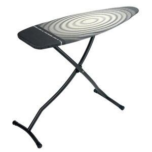 Brabantia Freestanding Ironing Board with Heat Resistant Iron Brabantia Colour: Black/Grey/White  - Black/Grey/White - Size: 101cm H X 184cm W X 49cm D