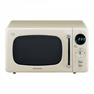 Daewoo 20 L 800W Countertop Microwave Daewoo Colour: Cream  - Cream - Size: 27cm H X 44cm W X 32cm D