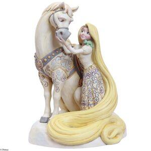 Disney Innocent Ingenue Rapunzel Figurine Disney Traditions  - Size: 22cm H X 16cm W X 17cm D