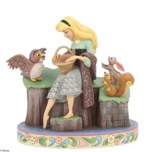 Disney Beauty Rare Figurine Disney Traditions  - Size: 20cm H X 13cm W X 20cm D