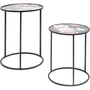 KARE Design Peony 2 Piece Nest of Tables KARE Design  - Size: 35cm H X 32cm W X 32cm D