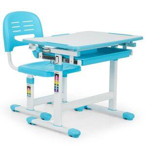 oneConcept Annika 66cm W Desk and Chair Set  - Size: 84.0 H x 40.0 W x 30.0 D cm