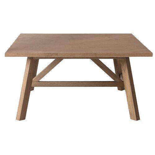 Zipcode Design Braun Coffee Table Zipcode Design  - Size: 45cm H X 90cm W X 90cm D
