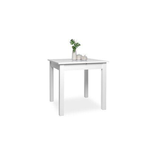 All Home Coburg Extendable Dining Table All Home Colour: White, Size: 76.5cm H x 140cm W x 80cm D  - White - Size: 76.5cm H x 140cm W x 80cm D