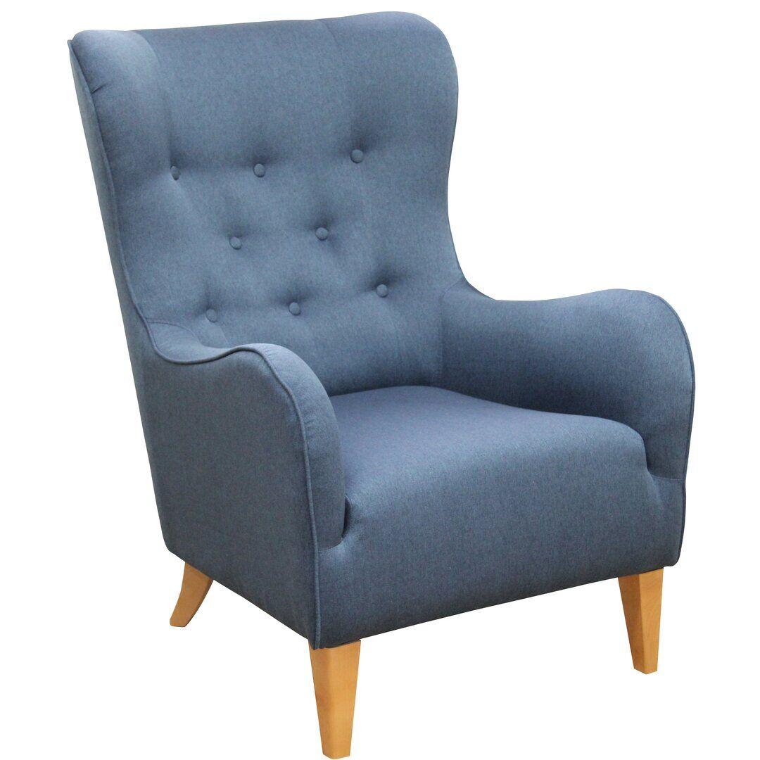 Brayden Studio Mcgarvey Armchair  - Size: 198.1 H x 76.2 W cm