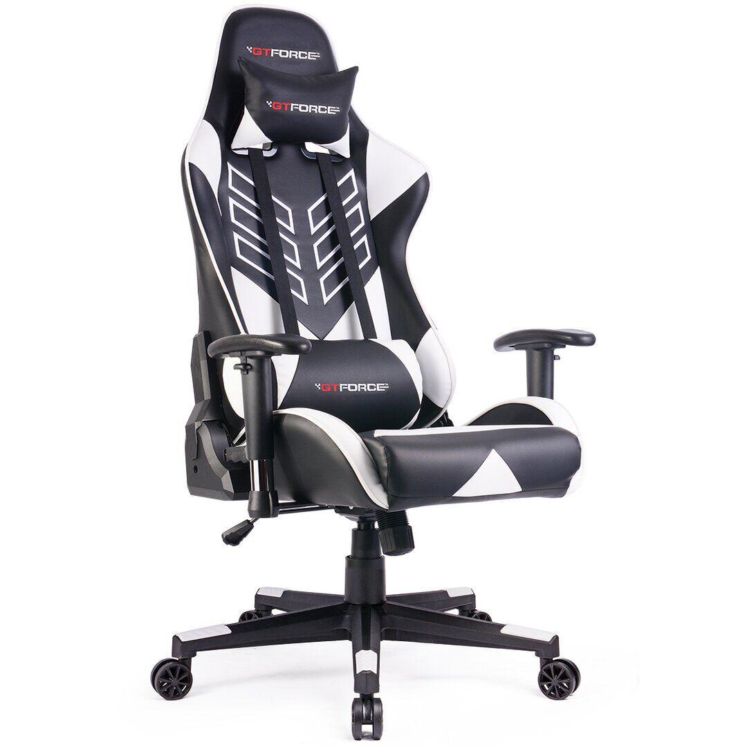 Brayden Studio Forde Gaming Chair  - Size: 198.1 H x 61.0 W cm