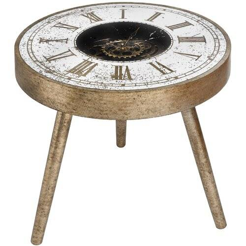 Rio Encore Side Table Williston Forge  - Size: 55cm H X 60cm W X 60cm D