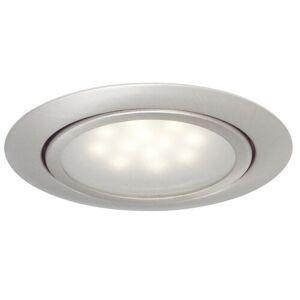 """Symple Stuff 2.6"""" LED Recessed Lighting Kit Symple Stuff  - Chrome/White - Size: 2cm H X 6cm B X 6cm T"""
