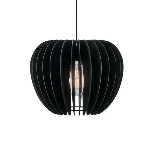 Nordlux Tribeca 1 - Light Geometric Pendant Nordlux Shade Colour: Black  - Size: 57.8cm W x 57.8cm D