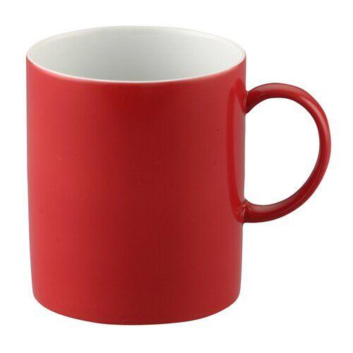 Thomas Sunny Day Mug (Set of 6) Thomas Colour: Red  - Red