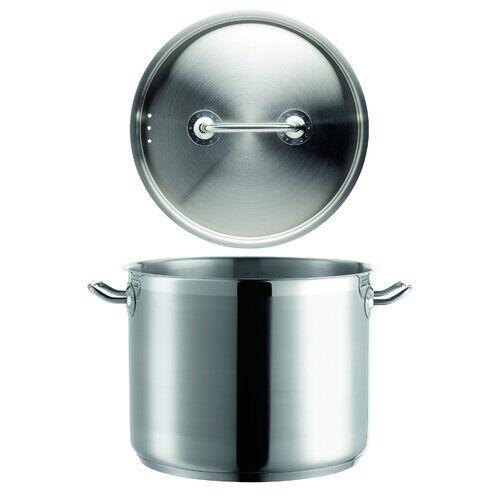 Symple Stuff Stock Pot Symple Stuff Size: 13.5 L  - Size: 31cm H X 69cm W X 19cm D