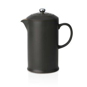 Le Creuset Stoneware Cafetiere with Metal Press Le Creuset Colour: Satin Black  - Satin Black